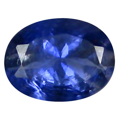 0.67 ct AAA Premium Oval Shape (7 x 5 mm) Iolite Natural Loose Gemstone