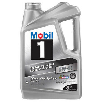 Mobil 1 5W-20 Full Synthetic Motor Oil 5 qt. Overall Performance Cleaning Power