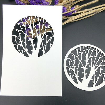 Tree Cutting Dies Stencil DIY Scrapbooking Embossing Album Paper Card Fashion