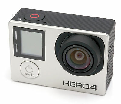 Gopro Hero 4 BLACK Edition 4K Action Camcorder With 3.97mm (22mm) f/2.8 Lens