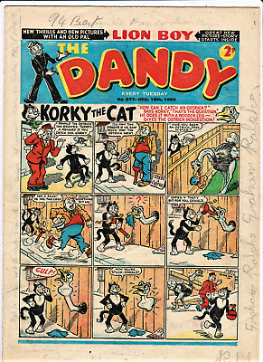 DANDY # 577 December 13th 1952 issue The comic