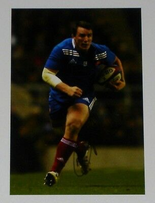 Louis Picamoles France Rugby Personally Hand Signed Autograph Photo