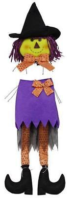 Witch Wreath Kit Head w Skirt & Legs 2 pc set for Deco Mesh Wreath hh729723 NEW