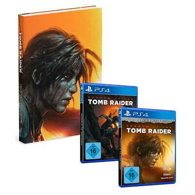 Shadow of the Tomb Raider Sony PS4 Standard Croft Edition Lösungsbuch Auswahl