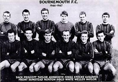 Bournemouth Football Team Photo>1966-67 Season
