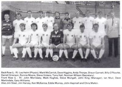 Tranmere Rovers Football Team Photo>1987-88 Season