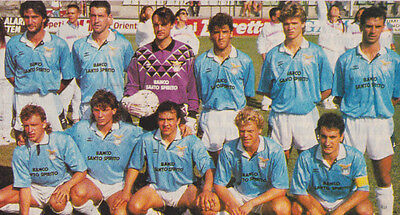 Lazio Football Team Photo>1992-93 Season