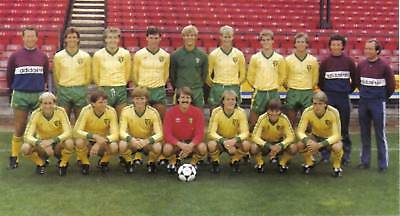 Norwich City Football Team Photo>1983-84 Season