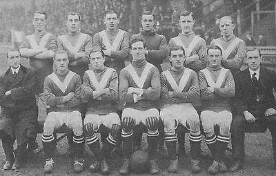 Leeds City Football Team Photo 1916-17 Season