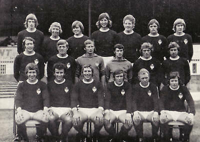 Wrexham Football Team Photo>1971-72 Season