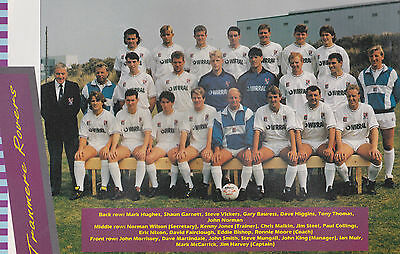 Tranmere Rovers Football Team Photo>1989-90 Season