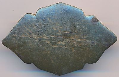 9-10th Century Antique Viking Relic Thick Bronze Buckle Decoration Detail PRONGS