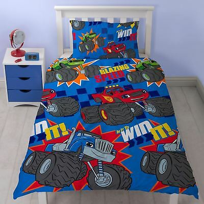 Blaze and the Monster Machines Single Duvet Cover Bedding Set