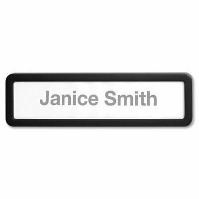 Lorell Recycled Plastic Cubicle Nameplate 80669