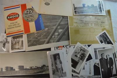 Lot of 40+ Vintage 1930s Photos AMOCO Hub Oil Co Rochester New York 897040