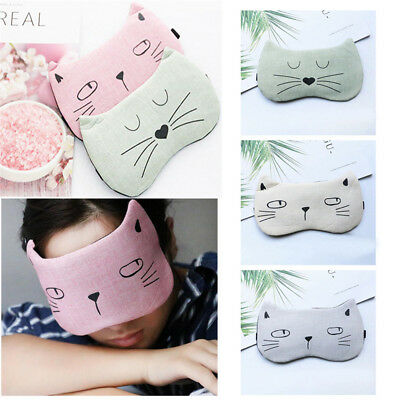 Cover Massage Relax Blindfold Sleeping Aid Eye Mask Sleep Eyeshade Eye Patch