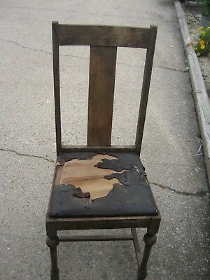 Antique VINTAGE Wooden Wood Adult Chair great for decor