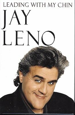 Leading With My Chin signed Jay Leno