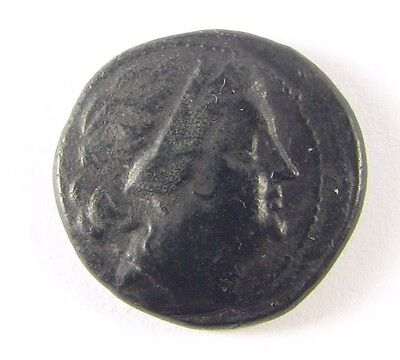 + III-II c. BC AE Bronze of Messembria, Thrace Athena Greek Coin - 20mm; 6.57g