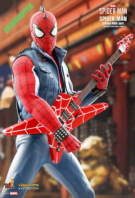 Hot Toys Marvel Spider-Man Spiderman Spider-Punk Suit Vgm32 Video Game Xbox Ps4