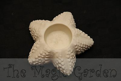 Starfish seaside candle holder cement plaster craft latex molds moulds