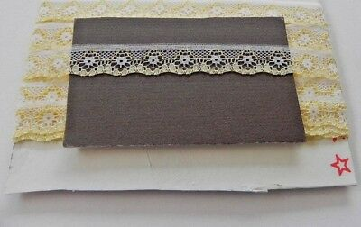 Card of New Lace - Yellow and White