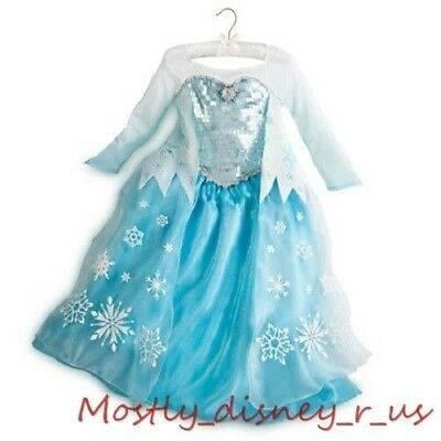 Disney Magasin la Reine des Neiges Princesse Elsa Déguisement Robe de Bal
