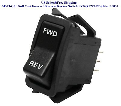 Us 74323-G01 Golf Cart Forward Reverse Interruttore a Bilanciere Ezgo Txt Pds