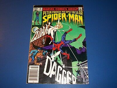 Spectacular Spider-man #64 Key 1st Cloak and Dagger Newstand Jewelers Variant