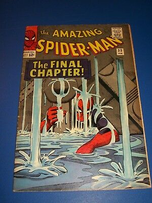 Amazing Spider-man #33 Silver Age Nice Cover Fine-/Fine Beauty