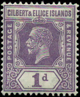 Gilbert & Ellice Islands Scott #28 Mint