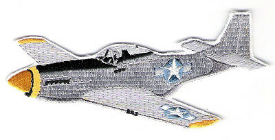 P51 MUSTANG Aircraft Airplane Aviation Collectable Military Embroidered Patch