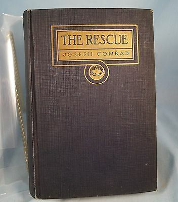 "1920 Joseph Conrad ""The Rescue:  A Romance of the Shallows""  Doubleday, Page and"