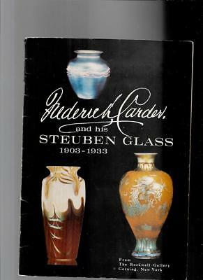 FREDERICK CARDER and his STEUBEN GLASS