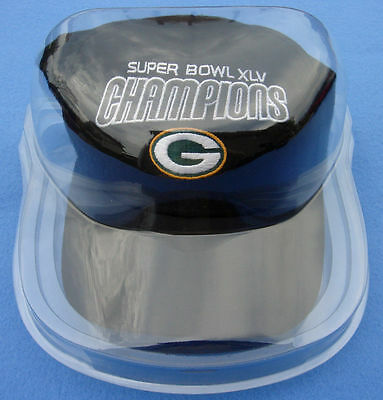 *(Small Scratch Defect) *new* Cap Hat Display Case Holder Soft Shell Super Clear