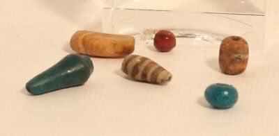 Ancient Egyptian and Near Eastern Faience and Glass beads