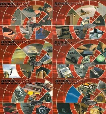 James Bond 40th Anniversary Full 19 Card Bond Extras Chase Set from Rittenhouse