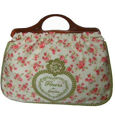 Knitting Bag, Vintage Style Floral Chintz & Ditsy Floral,100% Cotton,Fab Quality