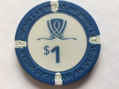 WYNN   Casino, Las Vegas, Nevada - $1 Poker chip