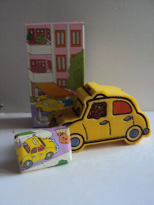 Vintage Avon Yakety Yak ~ Taxi Sponge & Soap ~ for Kids Bath ~ Sweet Pickles