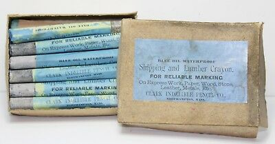 Original Civil War Era 1860s Clark Marking Pencils