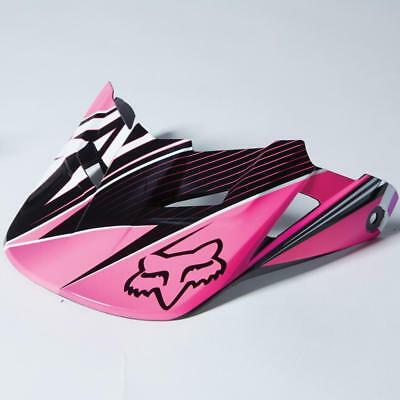 Fox Racing MX Spare Parts 2014 V1 Radeon Helmet Visor Pink M/L 09372