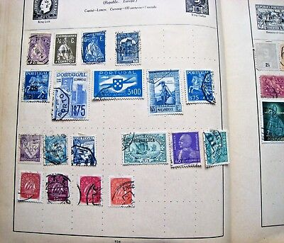 Unchecked Selection Of Early Portugal & Portuguese Colonies.4 Pages  Lot#244