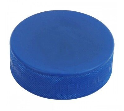 A&R Ice Hockey Puck Blue Mite Hard Rubber And Adhere To The Strictest MPUCK