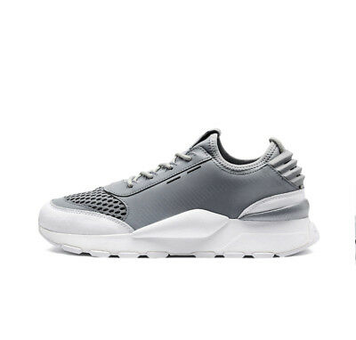 a74792fe5ab PUMA RS-0 OPTIC silver quarry white 3M Beschichtung Running System NEU  366884-01