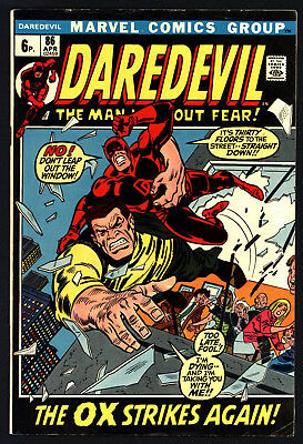 Daredevil #86. Karen Leaves & Black Widow Becomes Lover! White Pages!
