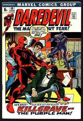 DAREDEVIL #88. BLACK WIDOW APPEARS. GENE COLAN ART,wHITE PAGES, GLOSSY COVER