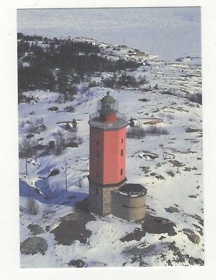 Russaro Lighthouse Finland Postcard 890b