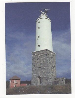 Ronnskar Lighthouse Finland Postcard 890b
