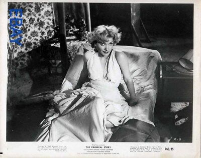 Anne Baxter busty sexy w/a yearning look R.I. 60 VINTAGE Photo Carnival Story